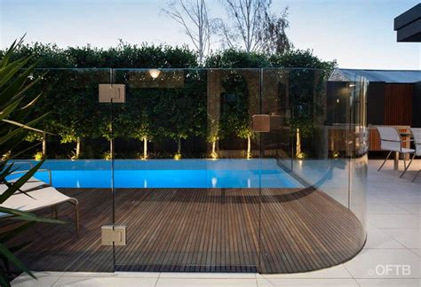 Landscape Timbers Around Pool Oftb Melbourne Landscaping Pool Design Construction