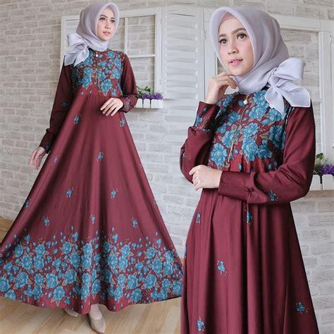 Tabina Maxi baju muslim terbaru maxi calvin