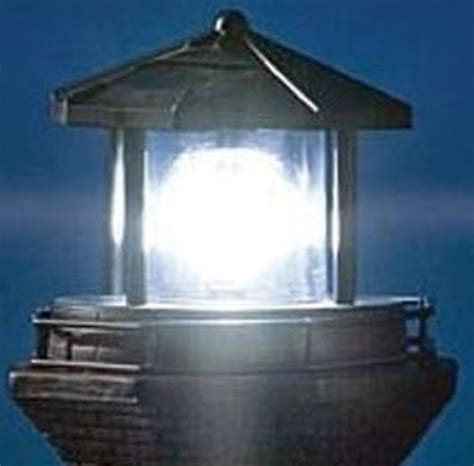 rotating beacon light for outdoor lighthouse solar light house lighthouse with revolving beacon red