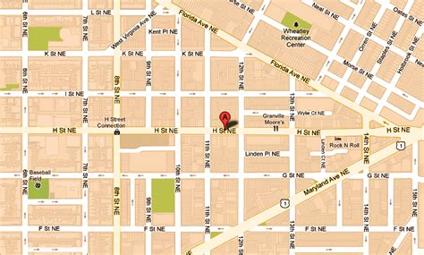 washington dc ne map the woolworth condominiums 1115 h ne dc