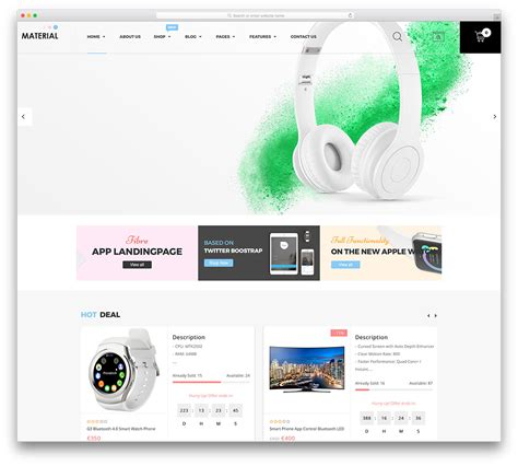 html ecommerce themes 52 awesome ecommerce wordpress themes 2018 colorlib