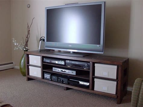 tv stand plans flat screens wooden  diy pitched roof