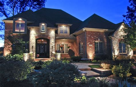 outdoor lighting chicago residential homes outdoor lighting in chicago il
