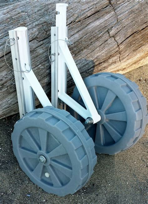 boat wheel quick launch adjustable launching wheels for inflatables