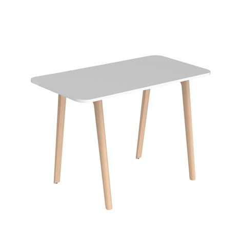 table haute style scandinave rectangulaire ou ovale pour