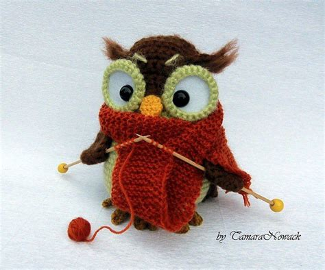 Knitting Owl Knit