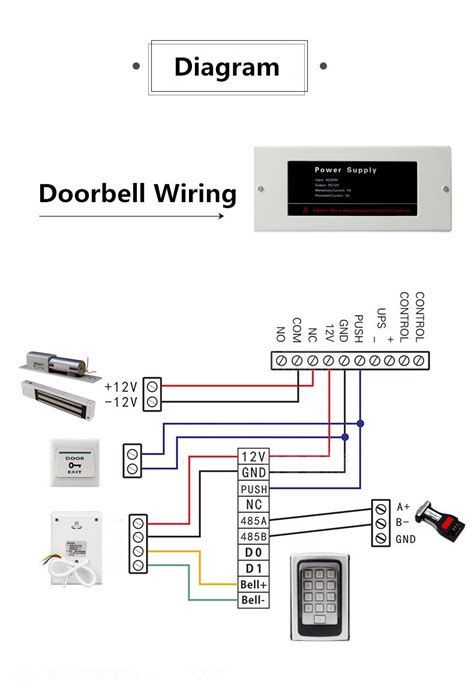 standard doorbell wiring diagram doorbell repair wiring