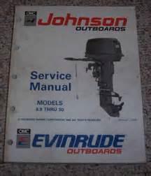 25 hp 1991 johnson 20 hp manuals