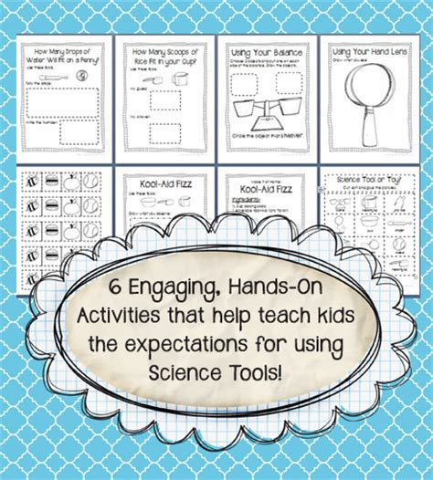 Science Tools Worksheet Kindergarten by Learning Lesson For Kindergarten Learning How To Use