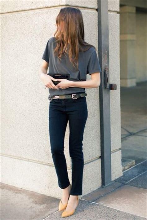 Slingback Sandal Prima Classe t shirt casual grey t shirt black trousers belt