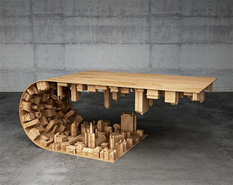 cool table designs coffee table based on from inception the meta picture