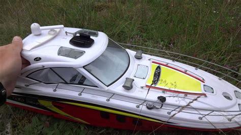 new bright rc boat new bright sea ray youtube