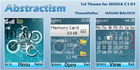 nokia c2 nature themes nokia c2 03 themes clock new calendar template site