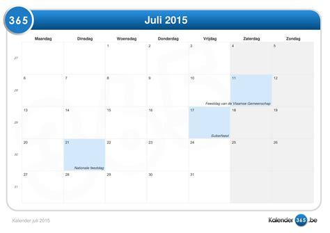 Calendar 2015 July Excel Kalender Juli 2015