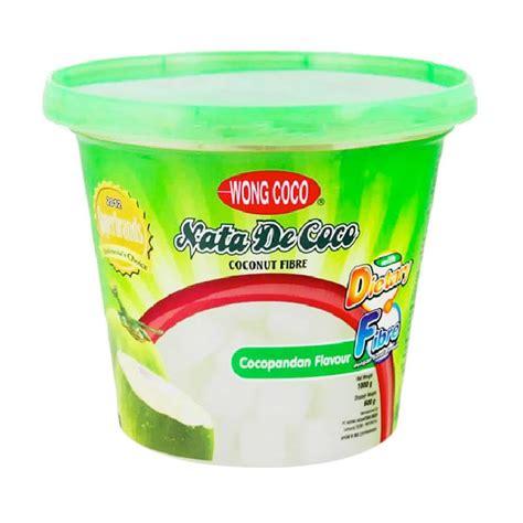 desain kemasan nata de coco jual wong coco sari kelapa nata de coco kemasan ember