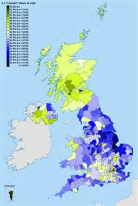 map uk eu referendum results the complex geography of the brexit vote geography lounge all things spatial