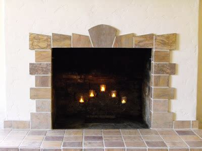 new home construction new tile fireplace for a 1920 s
