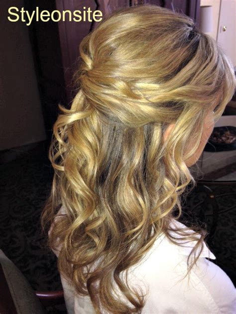 mother of the bride half up half down wedding hairstyles style onsite 187 style onsite 187 down do