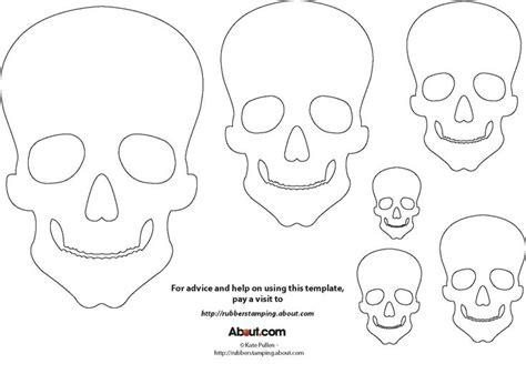 skull templates skull mask template time