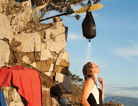 Sea To Summit Pocket Shower by Pocket Shower By Sea To Summit Offers A Shower On The