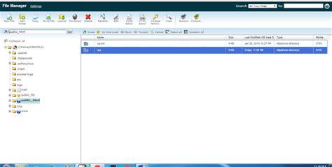 wordpress news tutorial memindahkan file dari folder wp ke public html rumahweb