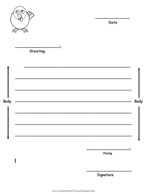 friendly letter format pdf search results for letter writing template for