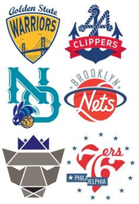 nba logo redesigns by michael weinstein nba on pinterest chicago bulls logo and crew socks