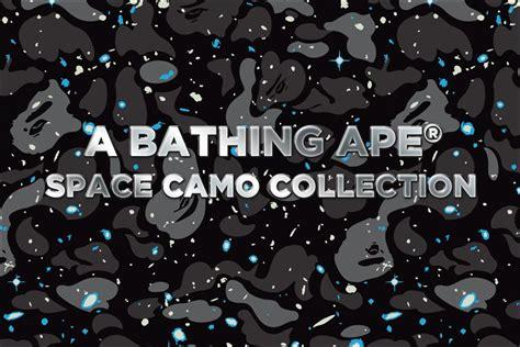 Bape Space Camo a bathing ape 174 space camo collection us bape