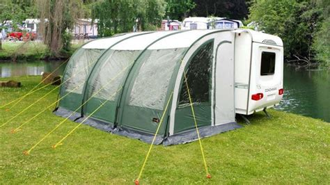 caravan awning flooring how to avoid damage to your caravan awning in high winds