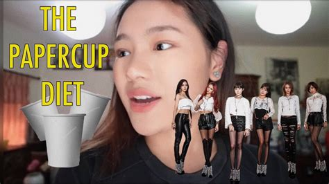 tvxq paper cup i tried a kpop diet paper cup diet with results y kpop