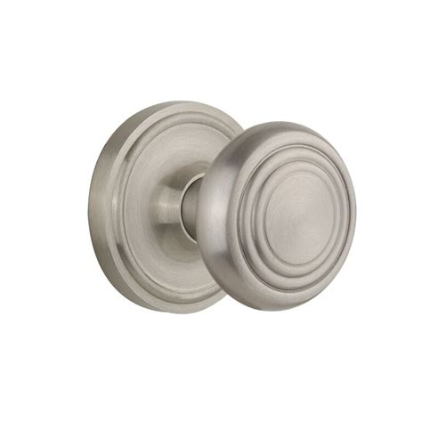 Deco Knobs by Nostalgic Warehouse Deco Knob Set Low Price Door Knobs