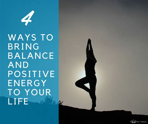 Kaost Shirtbaju More Need Energy 4 ways to bring balance and positive energy to your 42yogis