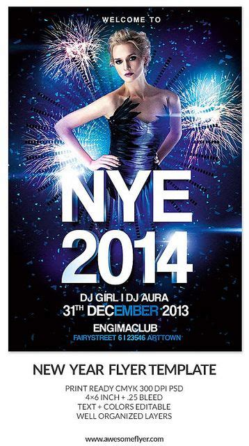 Download New Year And New Year S Eve Party And Club Flyer Templates For Photoshop High Quality Club Flyer Templates Photoshop