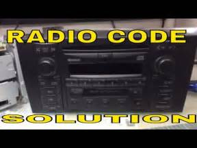 How To Unlock Audi Radio Vw Audi Radio Code Unlock