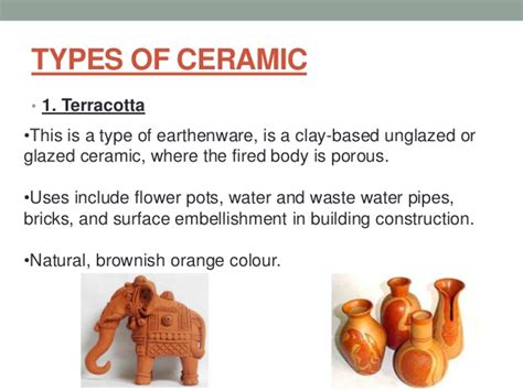 10 Uses Of Ceramics by Ceramic Presentation Of Building Materials