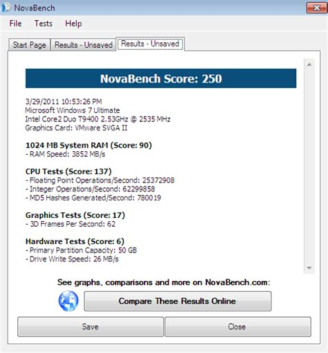 bench mark software free novabench free benchmark software 4sysops