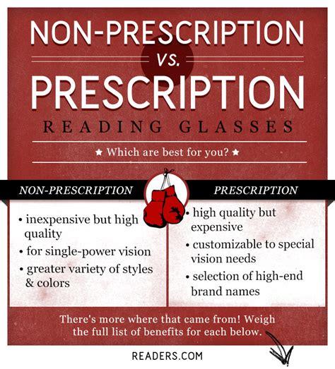 otc reading glasses vs rx readers