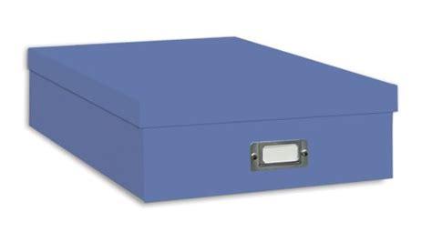 Lemari Uk Jumbo Bluesky pioneer jumbo scrapbook storage box sky blue homegoodsreview