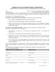 Mortgage Agreement Template doc 575709 mortgage agreement template mortgage