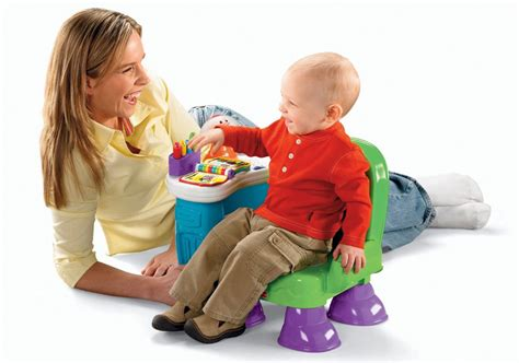 Baby Learn To Sit Chair by Fisher Price Laugh Learn Musical Learning Chair Green