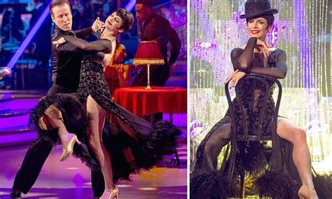 cabaret alba strictly come sees derham pulls a
