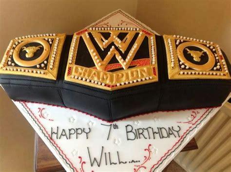 WWE Wrestling Belt by Complete Cake Craft   Food