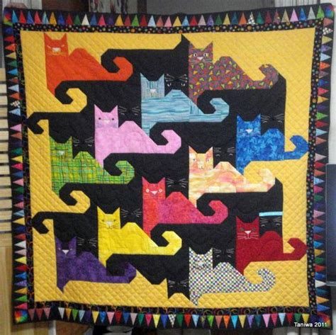Caterpillar Quilt Pattern by Cat Quilt Patterns Cat Quilt And Quilt Patterns On