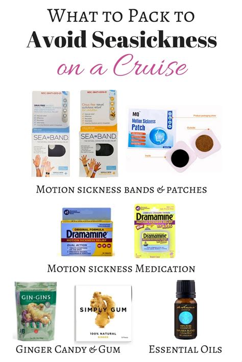 Ways To Prevent Motion Sickness by How To Avoid Seasickness On A Cruise