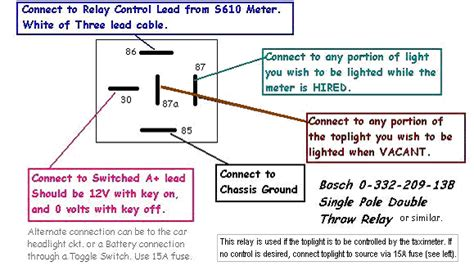87 and 87a relay wiring diagram get free image about