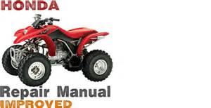 2003 Honda Trx250ex Specs 2001 2005 Honda Sportrax 250ex Trx250ex Service Repair