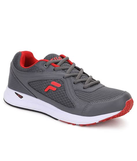 Fila Grey fila vannozzo gray sports shoes available at snapdeal for