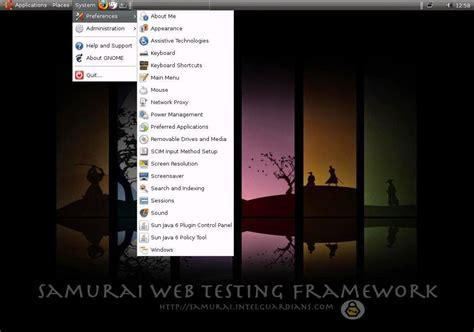 Tutorial Samurai Web Testing Framework | best operating system for penetration testing hacking