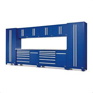 Granit Black Forest 3999 by Proslat Fusion Pro Series 10 Garage Cabinet Set