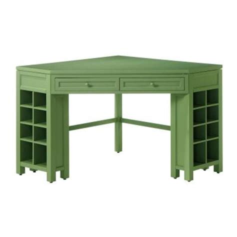 Martha Stewart Corner Desk Martha Stewart Living Rhododendron Leaf Corner Craft Table